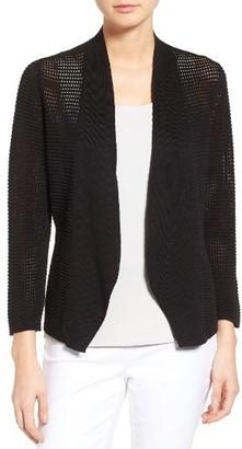 Women's Nic+Zoe Lace Linen Blend Cardigan $148 thestylecure.com