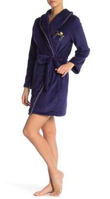 Juicy Couture Scripted Velour Robe