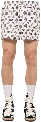 Kokon To Zai Monogram Printed Cotton Boxer Shorts