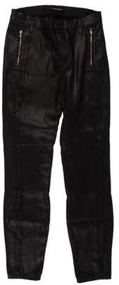 J Brand Cropped Mid-Rise Pants