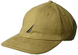 9b903ac63cb95 Nautica Men s Classic Logo Adjustable Baseball Cap Hat