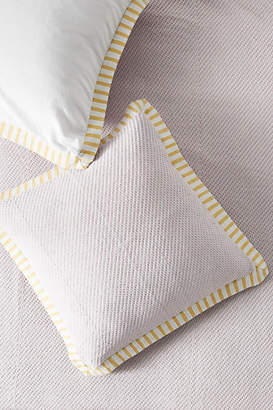 Anthropologie Woven Andree Euro Sham