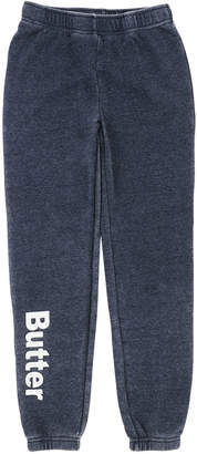 Butter Shoes Burnout Fleece Varsity Logo Sweatpants, Size 4-6 and Matching Items