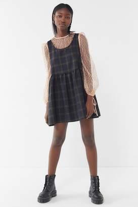 Urban Renewal Vintage Remnants Plaid Babydoll Dress