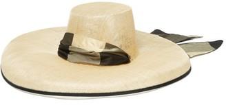 BEIGE Eliurpi - Campana Straw Hat - Womens