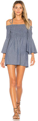 Tularosa x REVOLVE The Social Dress in Blue $178 thestylecure.com