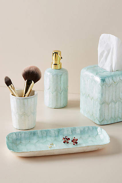 Anthropologie Snow Angel Bath Collection