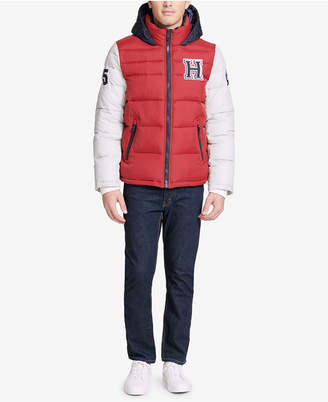 Tommy Hilfiger Men's Varsity Hooded Puffer Jacket