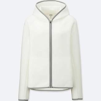 Uniqlo Women's Dry Sweat Long-sleeve Full-zip Hoodie