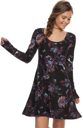 Mudd Juniors' Floral Dress