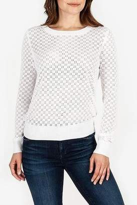 KUT from the Kloth Edythe Eyelet Knit Sweater
