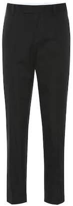 Bottega Veneta High-rise straight cotton pants