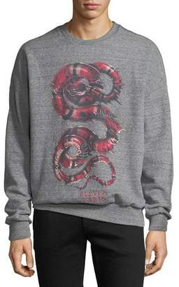 Eleven Paris Men's Snake Graphic Sweatshirt