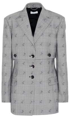 Altuzarra Neil plaid wool-blend blazer