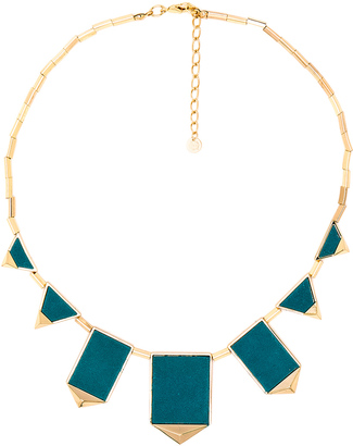 House of Harlow Classic Station Pyramid Necklace $75 thestylecure.com