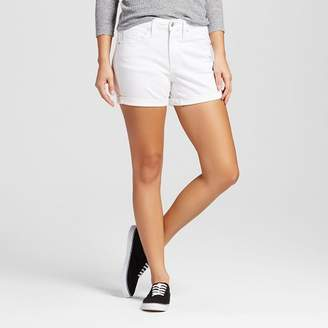 Mossimo Women's High-rise Midi Shorts White - Mossimo $19.99 thestylecure.com