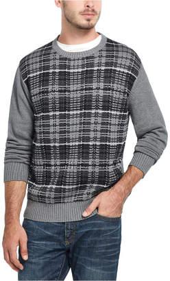 Weatherproof Vintage Men Plaid Sweater