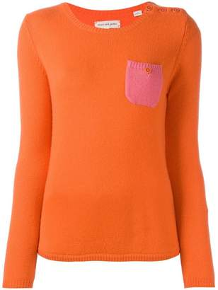 Parker Chinti & cashmere pocket jumper
