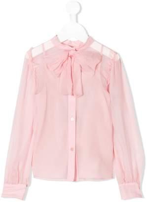 Dolce & Gabbana bow ribbon blouse