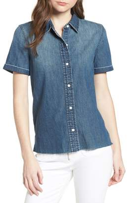 Current/Elliott The Lu Denim Shirt
