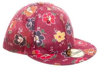 Kenzo Floral Print Baseball Cap