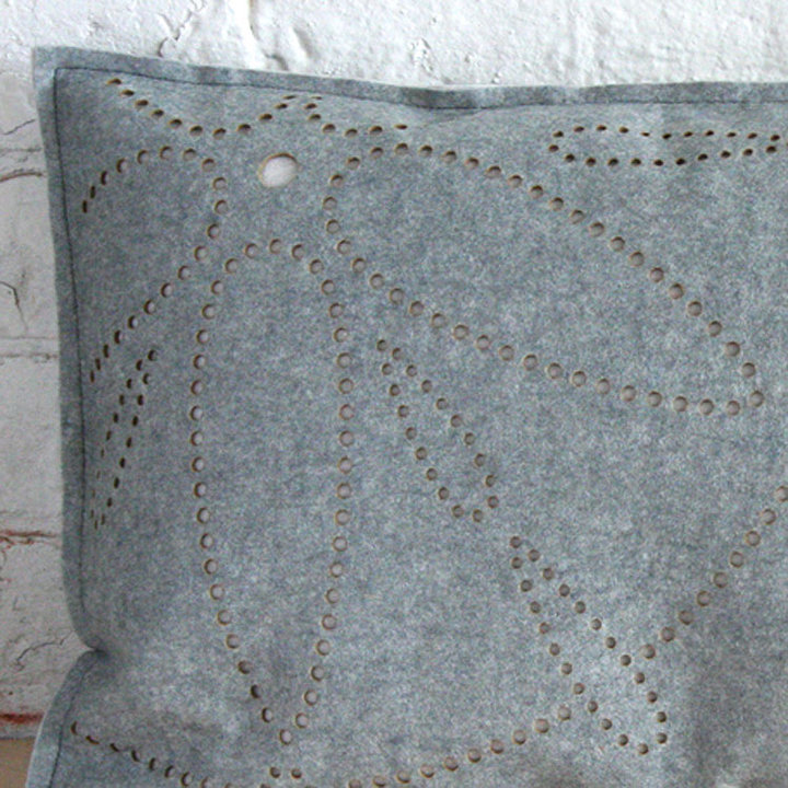 Etcetera Goods Pillow Andalucia Grey 20