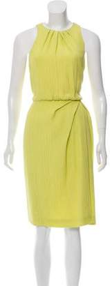 Lela Rose Silk Patterned Dress