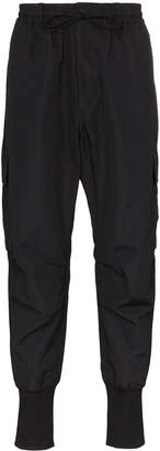 Y-3 cargo-style tapered trousers