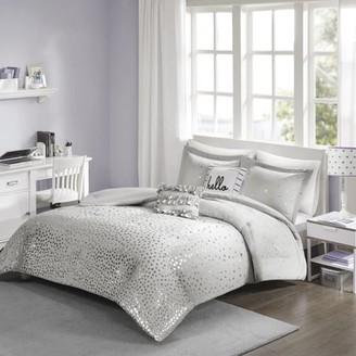 Home Essence Apartment Nova Metallic Comforter Set