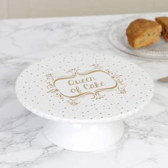 Dibor Queen Of Cake Ceramic Dessert Stand