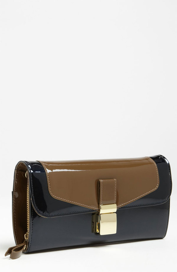 London Fog 'Essex' Patent Clutch