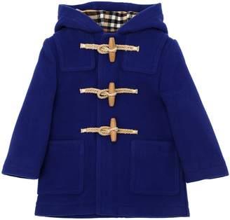 Burberry Hooded Wool Coat