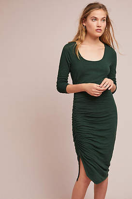 Three Dots Alma Ruched Petite Dress