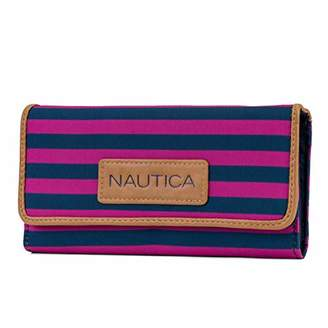 Nautica The Perfect Carry-All Money Manager Oraganizer with RFID Blocking Wallet