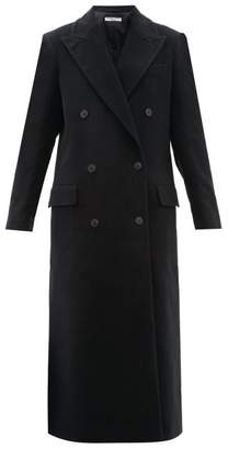 Katharine Hamnett Simona Double Breasted Moleskin Coat - Womens - Black