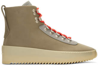 Fear Of God Taupe Hiking Boots