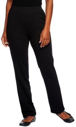 Denim & Co. Active Petite French Terry Pull-on Pants