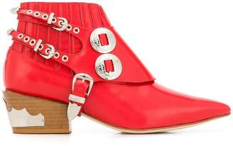 Toga Pulla stacked heel boots