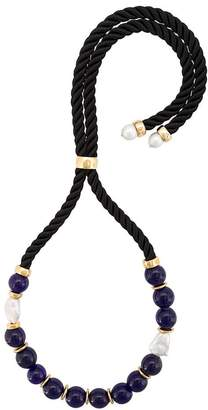 Lizzie Fortunato Riplay bead embellished necklace