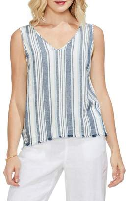 Vince Camuto Beach Stripe Tank Top
