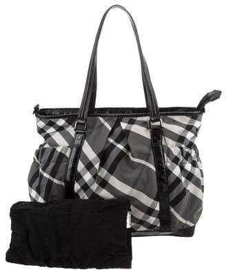 Burberry Beat Check Diaper Bag