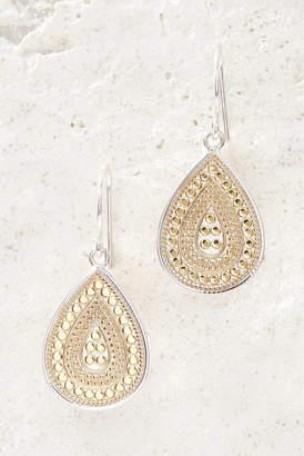 Anna Beck Gold Beaded Teardrop Earrings