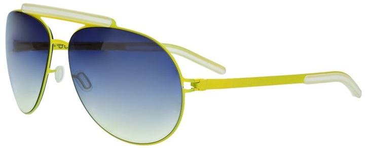 Mykita Bob neon sunglasses