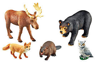 Jumbo Forest Animals by Learning Resources