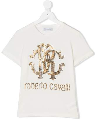 Roberto Cavalli Junior TEEN printed T-shirt