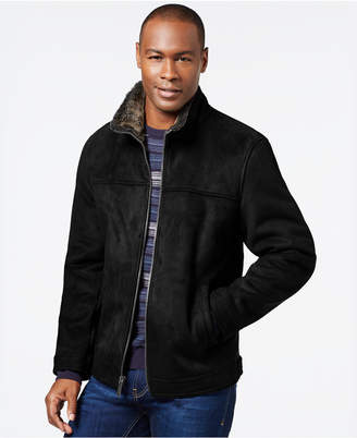 Nautica Faux-Shearling Zip Jacket $250 thestylecure.com