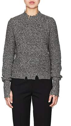 Helmut Lang Women's Mélange Cotton-Blend Sweater