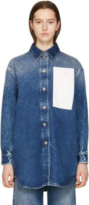 Maison Margiela Blue 80s Wash Denim Shirt