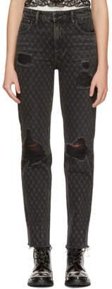 Alexander Wang Grey Cult Net Jeans