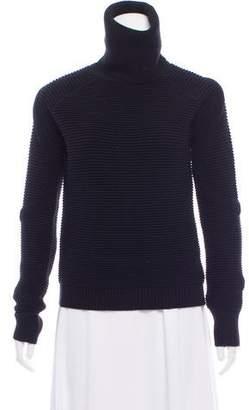 Haute Hippie Merino Wool Rib Accented Sweater